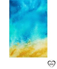 Abstract Arial beach from the artist Shalina Salim