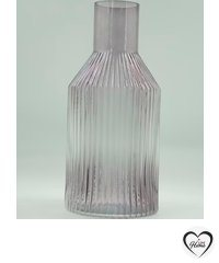 Fragrance - Glass bottle with stripes