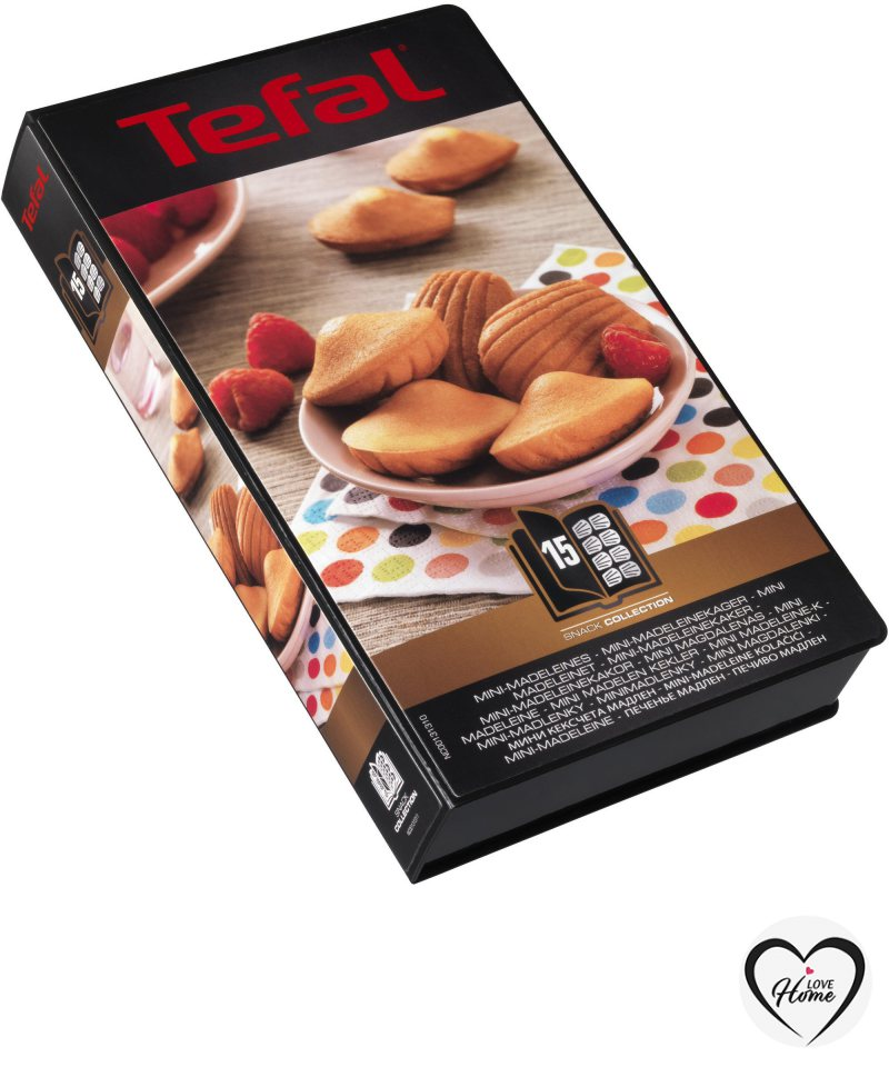 Tefal Snack Collection plattor: Mini Madeleines (15)